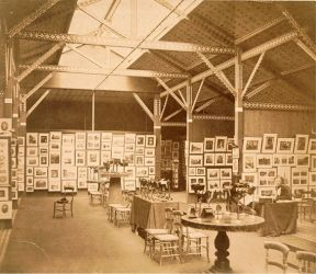 Charles Thurston Thompson, 'Exhibition of the Photographic Society of London and the Société française de photographie at the South Kensington Museum, 1858', 1858. Museum no. 2715-1913, © Victoria and Albert Museum, London